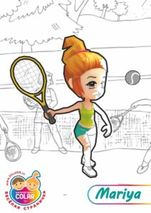 Теннисистка Мария