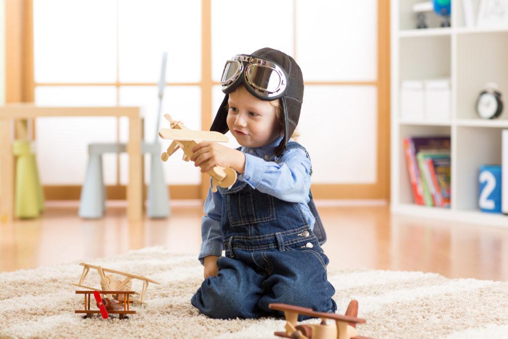 Развивает воображение у деток